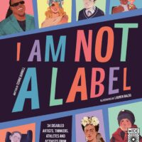 I am not a label book cover