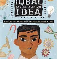 Iqbal and his ingenious idea book cover