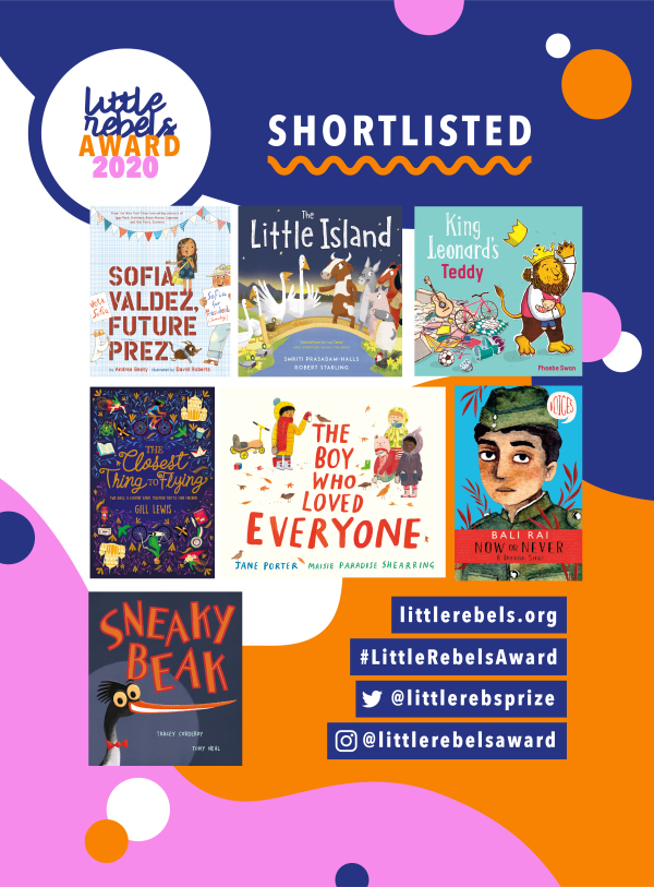 The Little Rebels 2020 shortlist